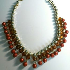 Jewelry - Disco Ball Beaded Necklace 16 Inches